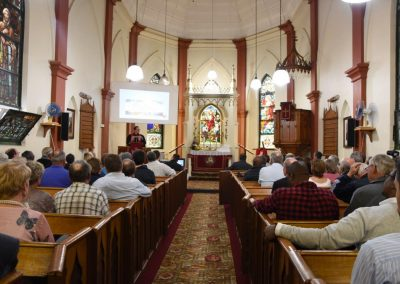 closing service at St. Andrew's