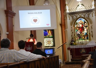 Rev Dr Elieshi Ayo Mungure from Luth World Federation