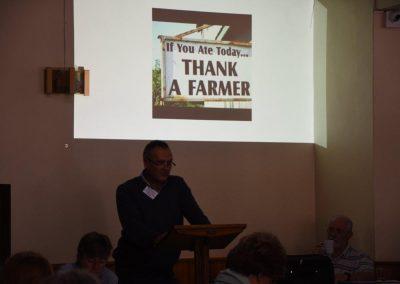 guest speaker Martin detering - former farmer